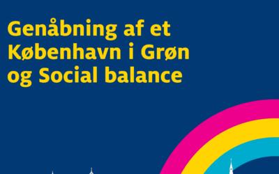 Pressemeddelelse – Radikale Venstre: Politisk aftale ruster København til genåbning i grøn og social balance